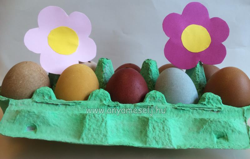 6 tojásfestési ötlet természetes alapanyagokból