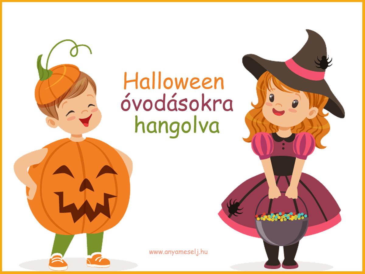 Halloween óvodásokra hangolva