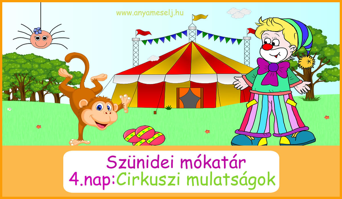 Cirkuszi mulatságok ovisoknak