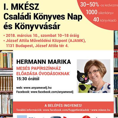 7végi program ajánló – I. MKÉSZ Családi Könyves Nap és Könyvvásár rendezvény